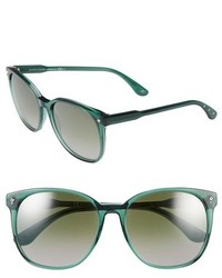 Gafas de sol verde oscuro de Bottega Veneta