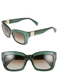 Gafas de sol verde oscuro de Valentino