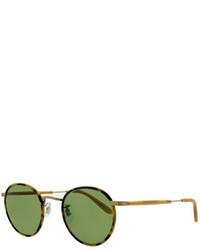 Gafas de sol verdes de Garrett Leight