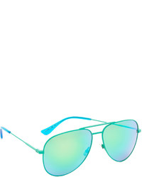Gafas de sol verdes de Saint Laurent