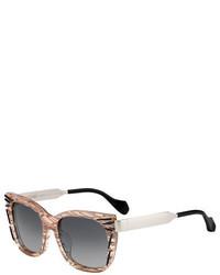 Gafas de sol violeta claro de Fendi
