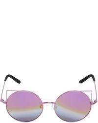 Gafas de sol violeta claro de Matthew Williamson