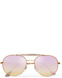 Gafas de sol violeta claro de Ray-Ban