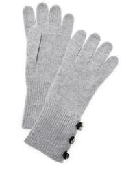 Gants gris Marc Jacobs
