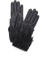 Gants noirs Agnelle