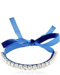 Gargantilla azul de Giuseppe Zanotti Design