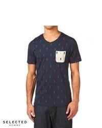 Geometric v neck t shirt original 4027707