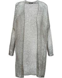 Gilet en tricot gris Avant Toi