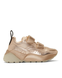 Stella McCartney Gold Eclypse Sneakers