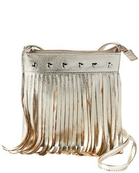 Girls 4 16 Capelli Fringe Heart Crossbody Bag