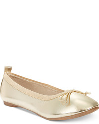Kenneth Cole Reaction Girls Or Little Girls Copy Tap Ballet Flats