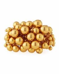 Oscar de la Renta Bold Beaded Cuff Bracelet
