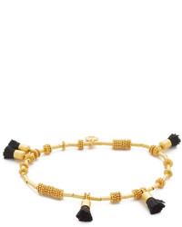 Madewell Raffia Tassel Bracelet