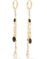 Isabel Marant Gold Tone Beaded Earrings