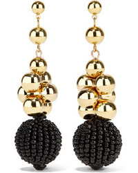 Etro Gold Tone Beaded Earrings