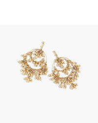 J.Crew Tiered Beaded Drop Earrings