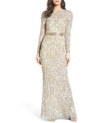 Beaded gown medium 3684733