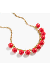 J.Crew Beaded Gold Necklace