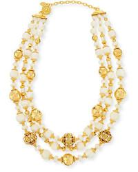 Beaded three strand necklace medium 1161314