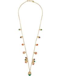 Aurelie Bidermann Beaded Tulip Necklace