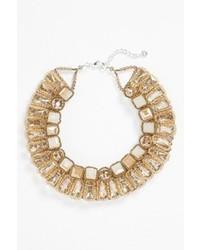 Nakamol Design Beaded Crystal Collar