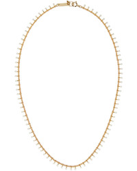 Isabel Marant Gold Beaded Casablanca Necklace