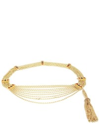 Chanel vintage muti strand gripoix chain belt medium 955479