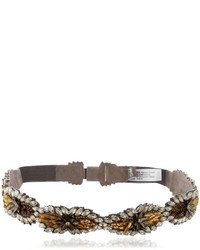 Deepa gurnani oblivion crystal belt medium 754725