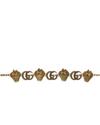 Gucci Gold Metal Chain Belt