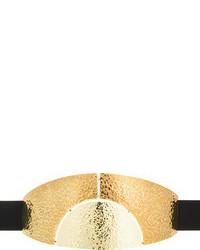 Lanvin Hammered Gold Sunrise Belt