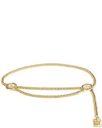 Vintage rue cambon charm chain belt medium 692684