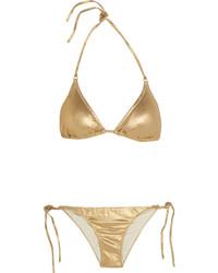 Melissa Odabash Portugal Metallic Triangle Bikini