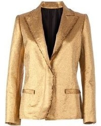 Gold Blazer | Women's Fashion