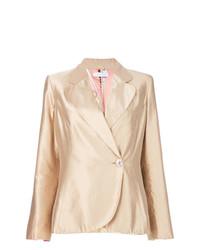 Metallic fitted blazer medium 8264906