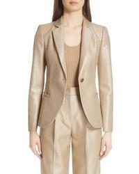 Emporio Armani Metallic One Button Jacket