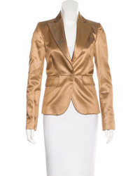 Gucci Silk Blend Fitted Blazer W Tags
