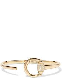 Gucci 18 Karat Gold Diamond Bracelet S