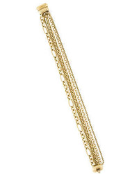 David Yurman 18k Five Row Chain Bracelet