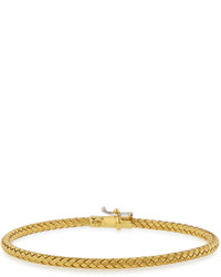 Roberto Coin 18k Yellow Gold Woven Bangle Bracelet