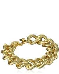 1ar By Unorre 18k Gold Plated Groumette Chain Link Bracelet 85