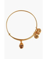 Alex and Ani Charity By Design Cupcake Expandable Wire Bangle