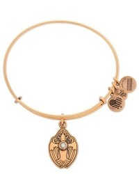 Alex and Ani Crystal Dove Adjustable Wire Bangle