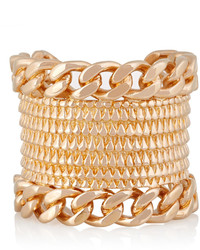 Givenchy Armadillo Rose Gold Plated Cuff