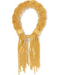 Aurelie Bidermann Aurlie Bidermann Miki Gold Plated Bracelet One Size