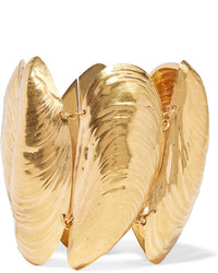Balenciaga Gold Tone Bracelet One Size
