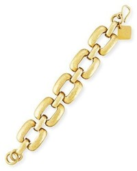 Ashley Pittman Bila Hammered Bronze Square Link Bracelet