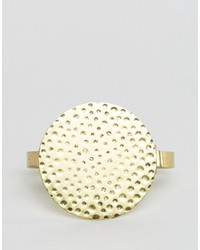 Asos Bracelet With Disc In Gold