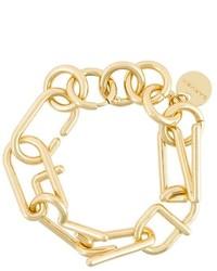 Carven Logo Chain Bracelet