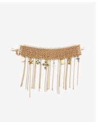 Express Chain Fringe Charm Bracelet