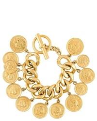 Chanel Vintage Coin Charm Bracelet